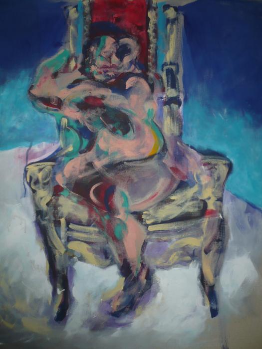 Donna sul trono