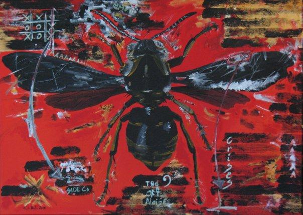 -Untitled- acrilico su tela, collezione privata ( 50x70 cm.)