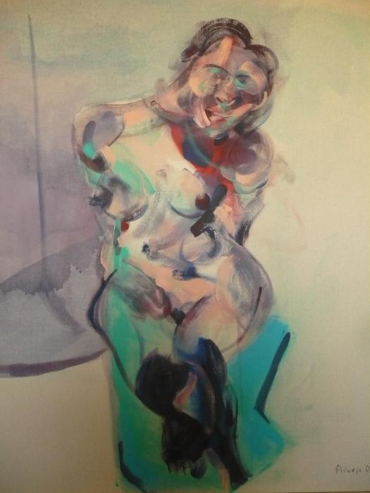 Vaclav Pisvejc- Venere- Venus- Acrilico su tela-Acrylic on canvas- (110x90x3 cm.)