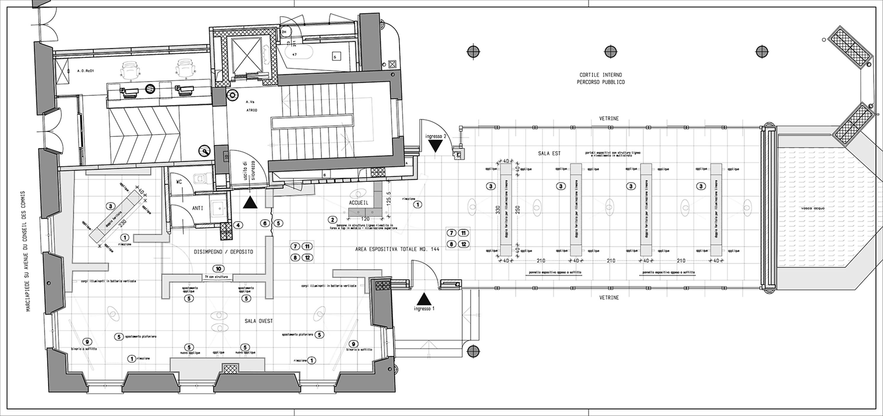 Map of Gallery