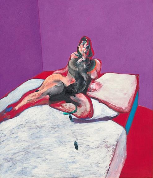 Seduzioni di Claudia Mantelli Art Curator -Opera di Francis Bacon Ritratto di Henrietta Moraes