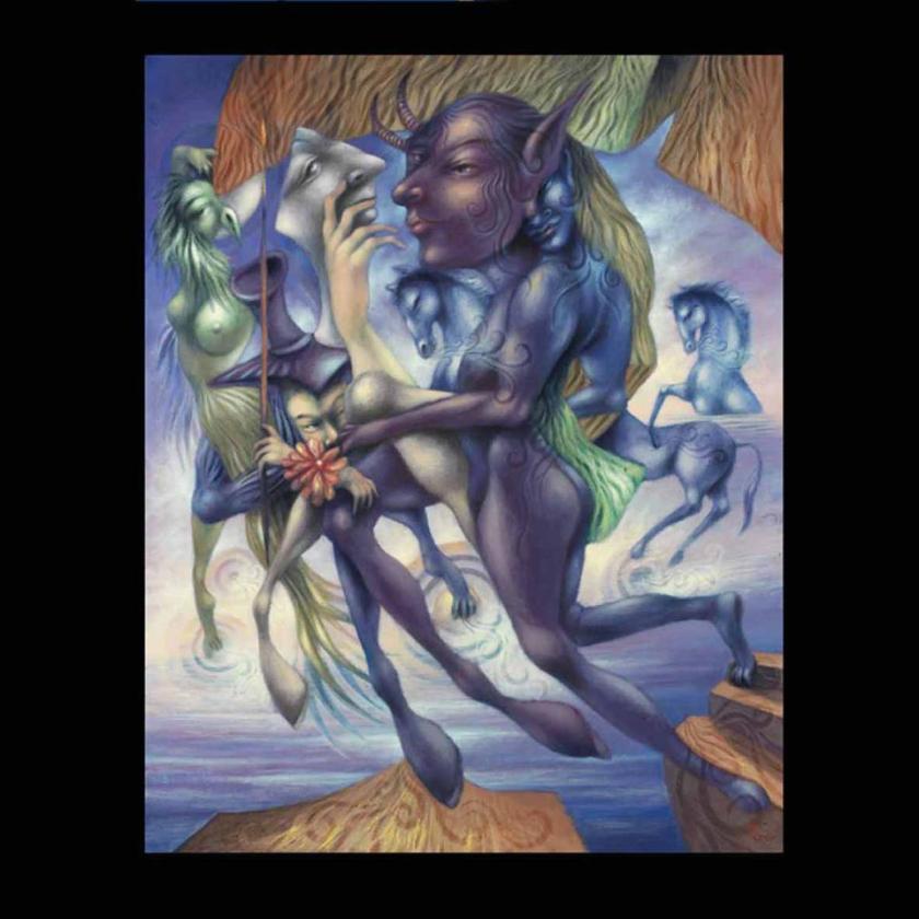 GALOPE DESIR! Huile sur Toile -Oil on Canvas-(100x80 cm.) 2010
