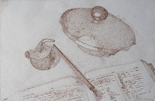 Paolo Bondoni -La Luna e la Farfalla