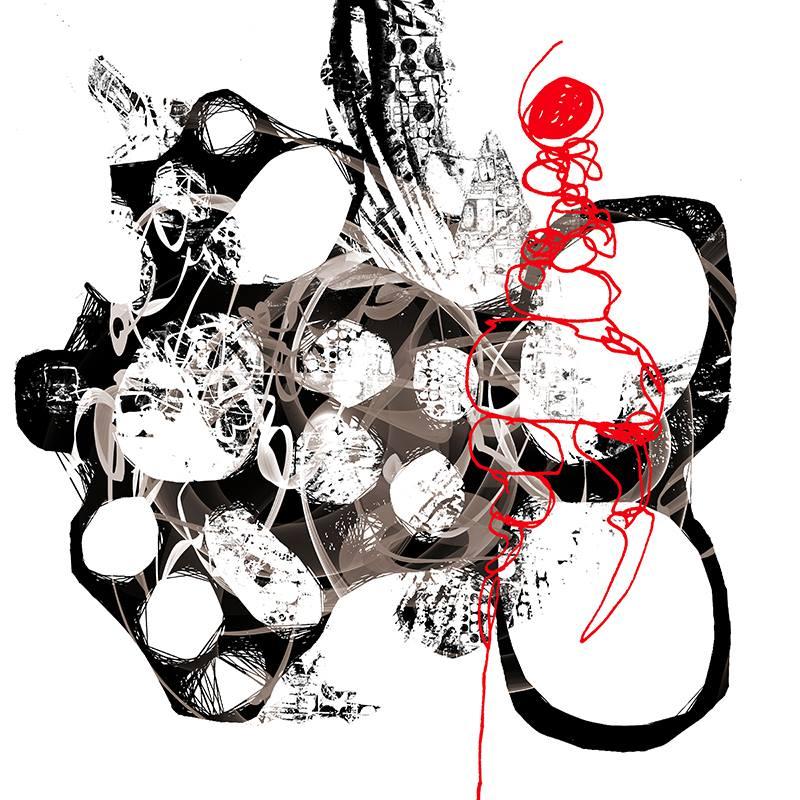Untitled-Digital Art-(100x100cm.)