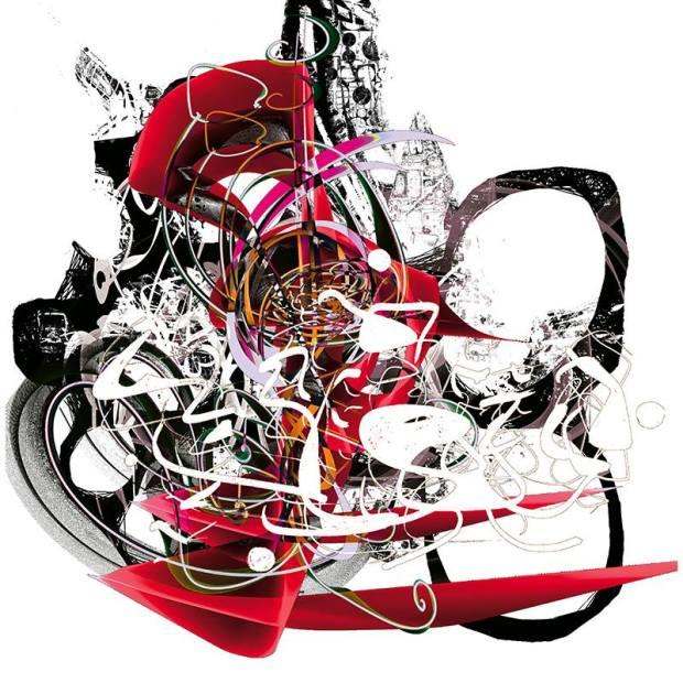 Alain Vaissière- Untitled- Digital Art- (100x100 cm.)